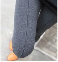 5 pieces slim Girls trouser for Women 2015 Solid Color Middle Line Deisgn Cotton Cashmere Leggings Casual pencil Pants