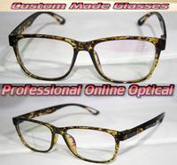 Light coloured leopard full rim Optical Custom made optical lenses Reading glasses +1 +1.5 +2+2.5 +3 +3.5 +4 +4.5 +5 +5.5+6