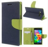 Korea Original Mercury Leather Case For Samsung Galaxy Grand Prime G5308 Goospery New Fancy Diary Case