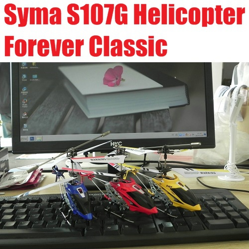 SYMA S107 S107G RC Helicopter 3.5CH mini RC toys with GYRO 100% Original Free Shipping(China (Mainland))