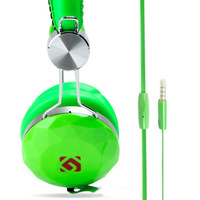 Colorful mobliephone audifonos 3.5mm earphones and headphone to ear handsfree head phones with microphone fones de ouvido cheap