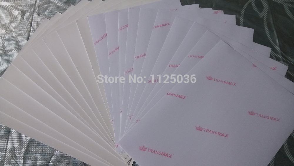 (60 pieces/lot) A4 size dark color heat transfer paper for inkjet printer, inkjet dark paper(China (Mainland))