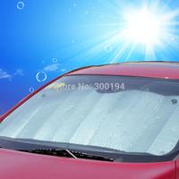 Creative car sun shade car sun louvers cars Sun insulation thicker insulation mat, Isolated from 99.9% of ultraviolet car mat