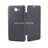 SALE ! New Arrival Original Lenovo A768T smart flip cover leather case free shipping black white