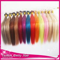 2015 NEW!!!100% Brazilian Virgin Human Hair Micro Ring Hair Extensions Straight Micro Loop Hair Extensions 1g/stand In Stock!!!