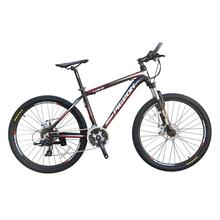 Pombo bicicleta 26 polegada disco duplo pode bloquear a frente garfo de alumínio frame da liga de 24 velocidade mountain bike(China (Mainland))