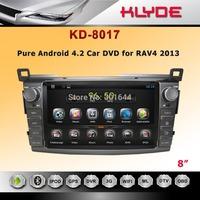 "8"" 2 DIN car dvd with 1.6G CPU Support BT 3G  for RAV4 2013"