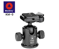 MANBILY KM-0 Professional Tripod heads,Universal ball head with Fast mounting plate,Camera tripod head for Canon Eos Nikon DSLR