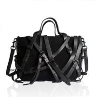 Women's handbag bags emma roberts savce cranberry ps1 vintage leather messenger bag handbag messenger bag  postman High Quality