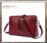 High Quality Women's Handbag 2015 Fashion Printing PU Shoulder Bags Lady Hand Bag Free Shipping qm2088