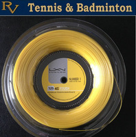 Free Shipping - New Arrival !!!! Tennis Racket String Luxilon 4G rough125 ( 200 Meters Reel ) ALU Power Big Banger