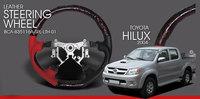 Leather steering wheel steering wheel