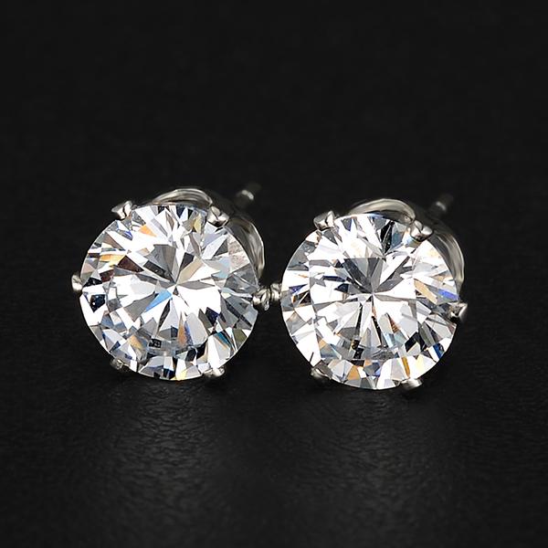 Brand Design New hot Fashion Popular Luxury Crystal Zircon Stud Earrings Elegant earrings jewelry for women 2015 M13(China (Mainland))