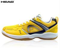C139C42X65 Top seller high quality Genuine HEAD mens badminton shoes sports shoes HEAD breathable anti-slip badminton shoes