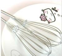 B-q225 stainless steel manual eggbeater mixer stainless steel egg beater drinking 22g