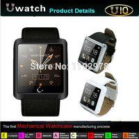 2014 Newest Smart U10 U Watch Anti-lost 1.54 Inch Bluetooth Watch Waterproof GPS Smart Android Watch For Smartphones Wristwatch