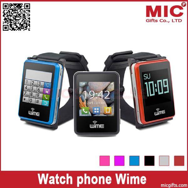 "1.54"" Quad Band WAP FM Sync Calls email message news Watch wristwatch phone cellphone Wime P286(China (Mainland))"