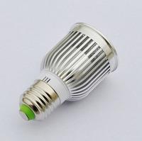LED Bulb E27 Lamp COB Spotlights 9W 85~265V Cool White Warm White Free Shipping