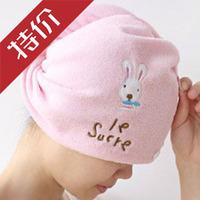 Free Shipping Coral Velvet Magic Dry Hair Cap Shower Cap Super Absorbent Microfiber Towel Dry Hair