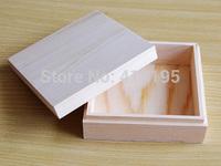 Free shipping wholesale 20pcs/lot 11.5*11.5*4.2CM Fashion wooden packaging box,jewelry display wood box