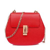 chain piggy bag cowhide woman bags fashion designers chain handbags messenger bags bolsas femininas brand