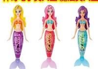 Retail Free shipping 2 piece robo fish magical mermaid / Magic Mermaid Magical Mermaid Le Turbot
