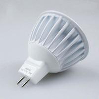 LED Bulb MR16 Lamp COB Spotlights 3W DC12V  Cool White Warm White Free Shipping