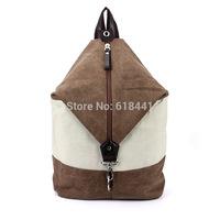 new arrival Korean fashion unisex canvas leisure bag backpack schoolbag street bag for men and women