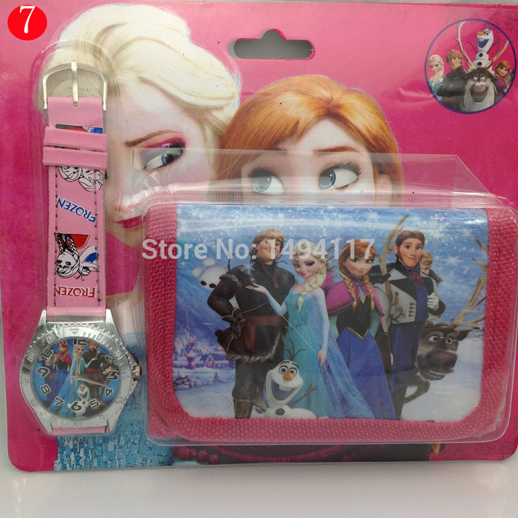 AliExpress.com Product - Cartoon Watch bracelet - Frozen Anna&Elsa Wrist watch charm bracelet so cute many styles can be choice free (children Wallet)