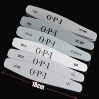 Free Shipping - High Quality Ezflow Nail File Set 6Pcs/Set Nail Buffer 100/180 GRIT Nail Tools Art Emery Board Manicure Pedicure
