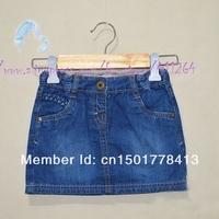 Retails 2A Free shipping girls denim skirts Children clothes baby girls denim mini skirts kids jeans skirts denim skirts