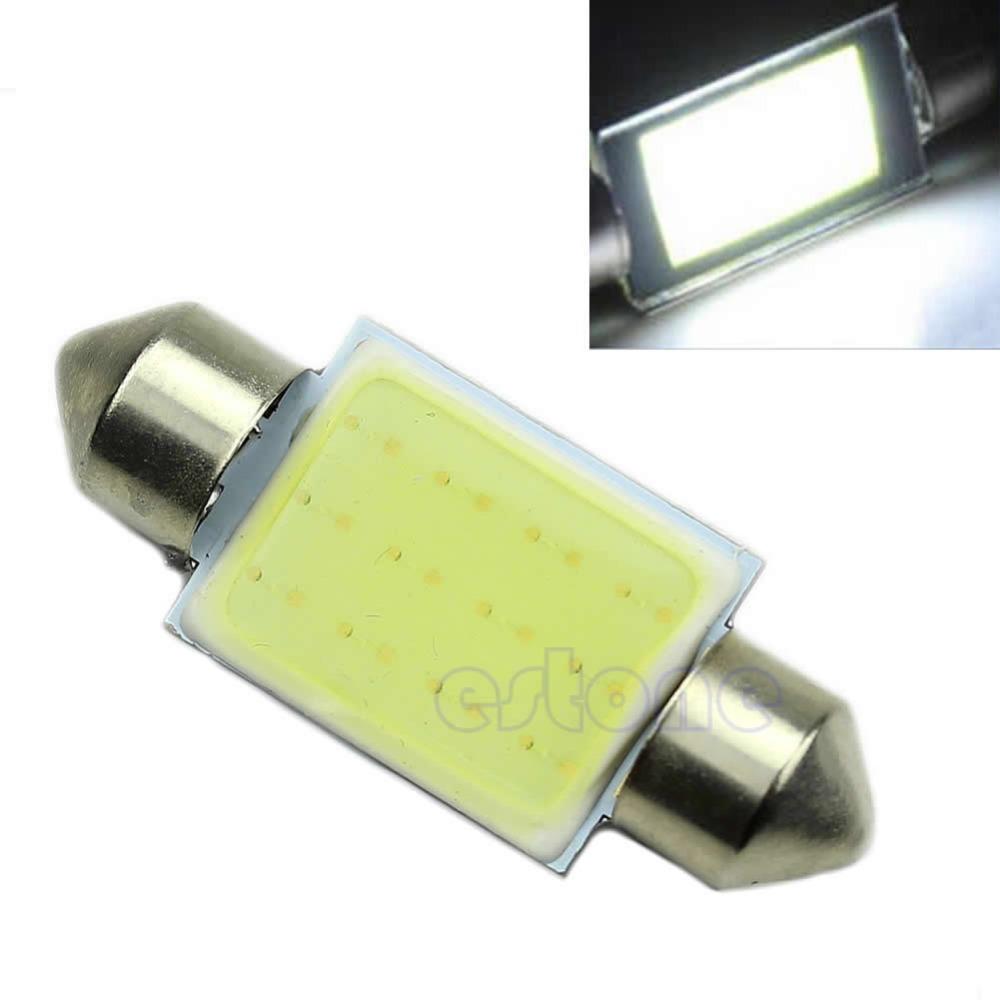 10pcs White 36mm Festoon CAN BUS C5W PLASMA COB LED SIZE interior SMD Bulb(China (Mainland))