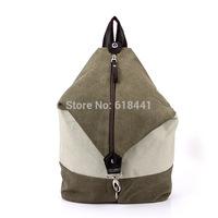 wholesale men and women Korean fashion unisex canvas leisure bag backpack schoolbag street bag 1073