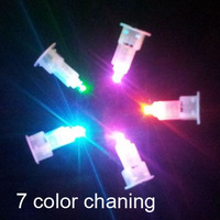 LED light bulb 7 color changing for Paper Lantern craft DIY Birthday Wedding Party decor supplies  CN post
