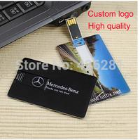 New arrival Business Credit Card Usb flash drive Pen drive usb memory stick disk Custom logo USB2.0 1GB 2GB 4GB 8GB 16GB 32GB