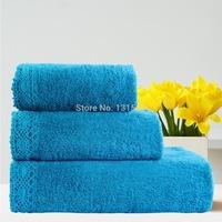 Lace Towel Sets 3pcs 100% Pure Cotton Handkerchief+Face Cloth+Bath Towels Bathroom Jacquard Terry Adults Washclothes Wholesale