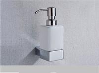 Design Solid Brass+Ceramics   Wall Mounted Bathroom Shower Room Soap Dispenser Hand Sanitizer Bottle  y-897