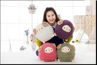 Novelty Soft Plush Stuffed Animal Doll Anime Toy Pusheen Sheep for Girl Kid Cute Cushion brinquedos birthday Gift 30*25CM