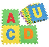 Baby play mats EVA  foam crawling mat kids floor mat Children jigsaw puzzle English Letters floor pads