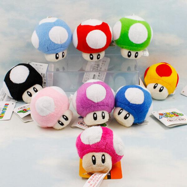 Cogumelo Pelúcia Super Mario Bros