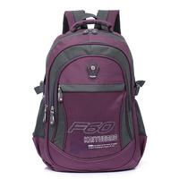 New popular men's travel bags Topnotch waterproof Nylon outdoor sport backpacks Leisure multifunction folding zipper schoolbag