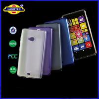 1000pcs/lot Hot Selling Mobile Phone Case for Microsoft Lumia 535 TPU Gel Shinny Case Back Skin Cover   Laudtec