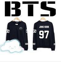 BTS Bangtan Boys Jung Kook jhope jin jimin v suga longsleeve  hoodie New kpop bts