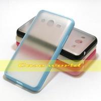 1 Pcs TPU Bumper Clear Transparent Matte Case For Samsung Galaxy Galaxy Core 2 G355H
