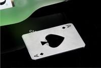 Poker Card Beer Bottle Opener Wine Cap Opener kitchen Cooking Tools Openers