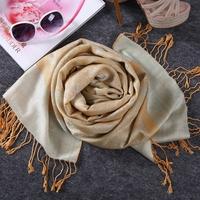 Single 2014 silk cashmere thermal scarf cape ultra long all-match muffler scarf silk scarf women's scarf wcp421