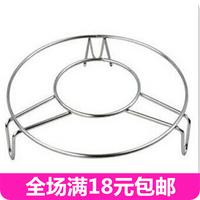 Stainless steel steamer steaming rack steamer dish rack heat insulation pad steaming rack stainless steel bowl rack disc holder
