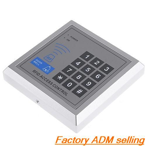 Single Door Proximity Entry Lock Password Keypad Access RFID Control System For House Office(China (Mainland))