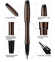 Free Shipping! Hot best gife Pker fountain pen parker im series parker pen in gold clip fountain pen IM series