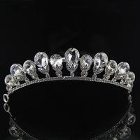 Best Quality 2014 hot promo wedding hair tiara Vintage bridal crystal hairbands rhinestone hair jewelry woman accessory XB53